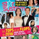 Angelina Jolie and Brad Pitt - Star Systeme Magazine Cover [Canada] (6 January 2017)