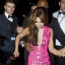 Cheryl Cole: leaves Mahiki nightclub at 3 a.m