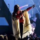 Jared Leto of Thirty Seconds to Mars performs onstage during KROQ Almost Acoustic Christmas 2017 at The Forum on December 9, 2017 in Inglewood, California