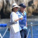 Catherine Zeta Jones on holiday in France - 454 x 714