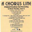 A CHORUS LINE Original 1975 Broadway Cast. Directed By Michael Bennett - 454 x 458