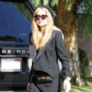 Rachel Zoe: grabs lunch at Hugo's in West Hollywood