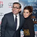 Steve Carell and Marisa Tomei