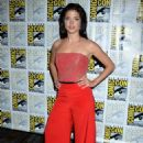Marie Avgeropoulos – Comic-Con International 2016 - 'The 100' Press Line - 454 x 645