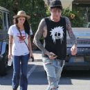 Tommy Lee steps out for low-key stroll as he's seen for the first time since son Brandon posted video of the rocker unconscious in his underwear amid Father's Day spat