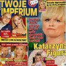 Katarzyna Figura - Twoje Imperium Magazine Cover [Poland] (4 April 2016)