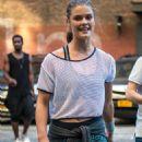Nina Agdal – Photoshoot Set in Brooklyn 9/24/ 2016 - 454 x 681