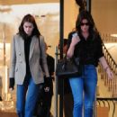 Kaia Gerber and Cindy Crawford – Shopping at Barneys New York in Beverly Hills - 454 x 681