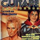 Guitare & Claviers Magazine Cover [France] (January 1984)
