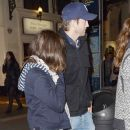 Ashton Kutcher and Mila Kunis leaving the Apollo Theater in London, England (June 1)