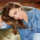 Miranda Kerr Rocks All-Denim Outfit For Into The Gloss Shoot