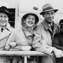 Fred Brisson, Rosalind Russell, Gregory Peck and Greta Kukkonen