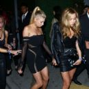 Charlotte McKinney – Arriving at the grand opening of TAO in Hollywood - 454 x 665