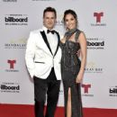Mark Tacher and Cynthia Alesco: 2019 Billboard Latin Music Awards - Arrivals
