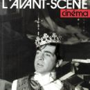 Alan Bates - L'Avant-Scene Cinema Magazine Cover [France] (June 1998)
