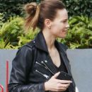 Hilary Swank – Goes to a business meeeting in Beverly Hills - 454 x 569
