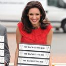 Kelly Brook - World Cup Back The Bid 2018 campaign in London 2010-11-25
