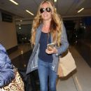 Cat Deeley at LAX Airport in Los Angeles - 454 x 682