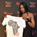 Naomi Campbell – Fashion For Relief Pop-Up Store in London