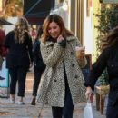 Ashley Tisdale – Out for a coffee run at Joan's on Third in Studio City