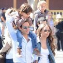 Marc Anthony and Chloe Green - 2013 Disneyland