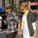 "Nicole Kidman And Keith Urban Walk Hand-in-hand After Watching ""Public Enemies"" In New York City, July 12 2009"