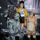 Vanessa Hudgens Knotts Scary Farm Black Carpet In Buena Park