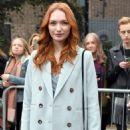 Eleanor Tomlinson – Topshop Unique Show at 2017 LFW in London February 19, 2017 - 454 x 684