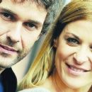 Mariano Martínez and Eugenia Tobal