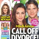 Ashton Kutcher and Mila Kunis - OK! Magazine Cover [United States] (11 May 2020)