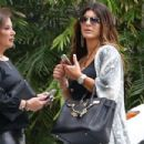 Teresa Giudice heads out for lunch with a friend - 454 x 303