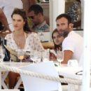Alessandra Ambrosio and Jamie Mazur Boating While in Ibiza 7/3/2016 - 454 x 323