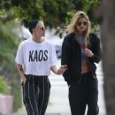 Kristen Stewart and Stella Maxwell out in Studio City