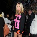 Laura Whitmore Fyodor Golan Fashion Show In London