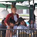 Miley Cyrus looking sexy out with her family (June 20)