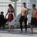 Cauã Reymond and Grazielli Massafera Beach Misc