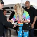 Kesha Sebert – Spotted at Lax Airport In Los Angeles - 454 x 685