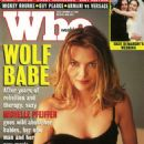 Michelle Pfeiffer - Who Magazine Cover [United States] (10 October 1994)