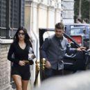 Kourtney Kardashian – Arriving at her hotel in Rome