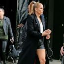 Jennifer Lopez – Pictured on the set of 'Marry Me' in NY