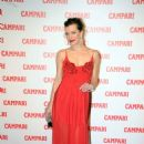 Milla Jovovich At The Campari Launch Party