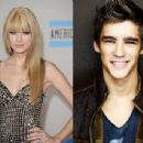 Brenton Thwaites and Taylor Swift