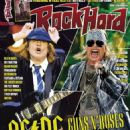 Angus Young - Rock Hard Magazine Cover [France] (May 2016)
