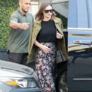 Miranda Kerr Leaving Epione Salon in Los Angeles - 454 x 601