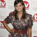 Jenna-Louise Coleman - TV Quick & TV Choice Awards At The Dorchester On September 7, 2009 In London, England