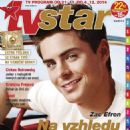 Zac Efron - TV Star Magazine Cover [Czech Republic] (21 November 2014)