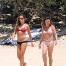 Lea Michele – On beach in Hawaii