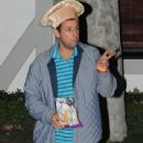 Adam Sandler spotted at K a t e Hudson's annual Halloween Party at her house in Brentwood, California on October 28, 2016 - 439 x 600