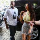 Kim Kardashian at the Faena House condo in Miami