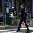 Monica Bellucci – Shopping in Paris